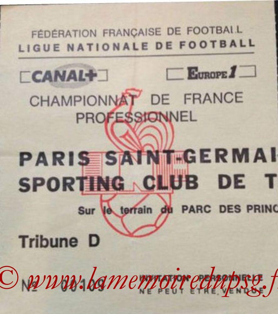 1987-03-11  PSG-Toulon (26ème D1, Invitation)