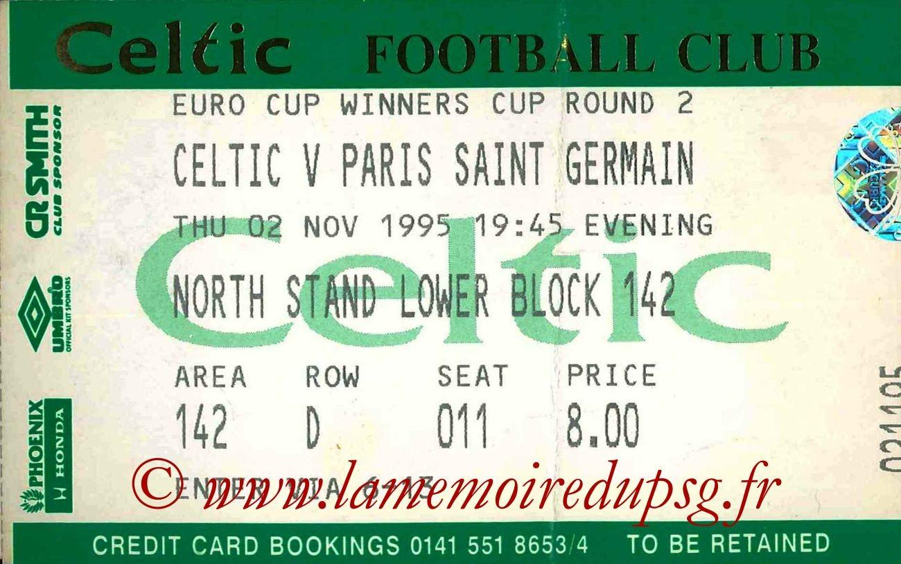 1995-11-02  Celtic-PSG (8ème Finale Retour C2, bis)