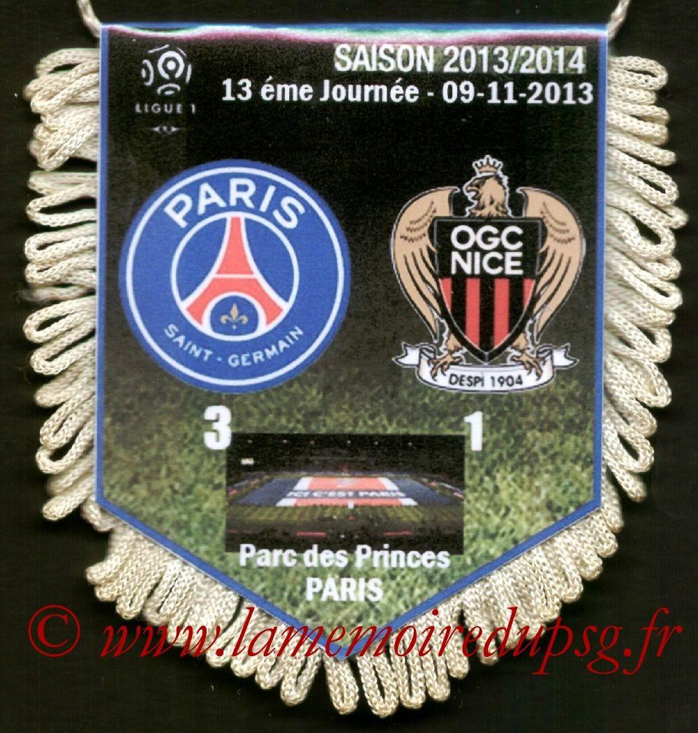 2013-11-09  PSG-Nice (13ème C1)