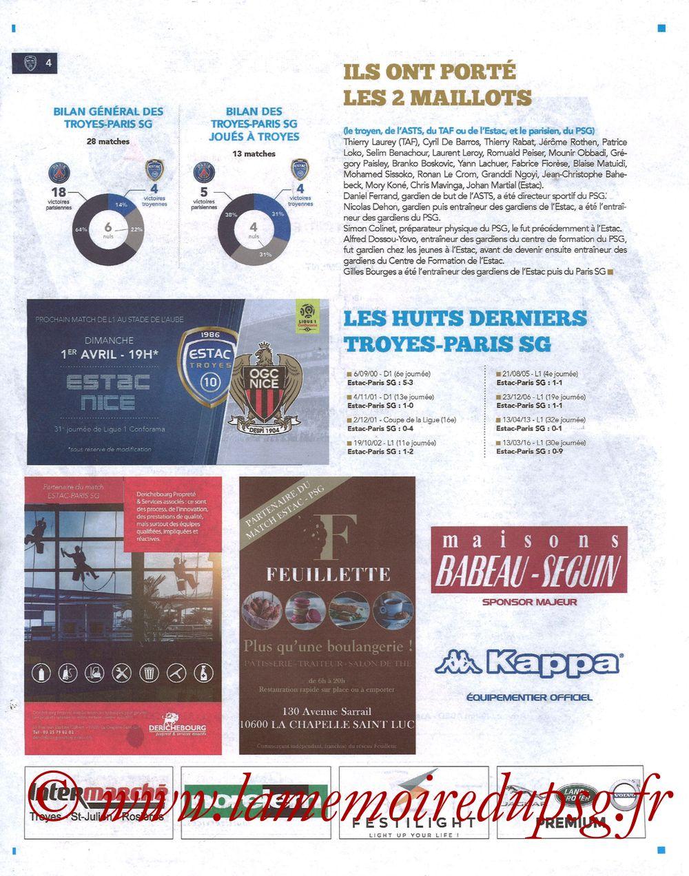 2018-03-03  Troyes-PSG (28ème L1, Bleu et Blanc N°15) - Page 04
