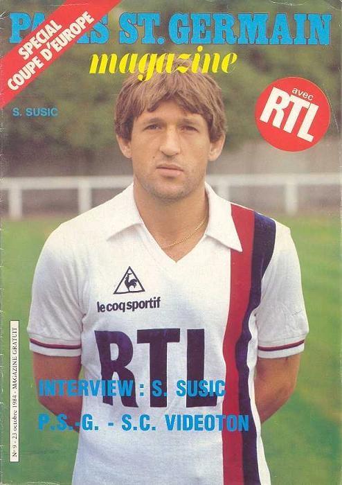 1984-10-24  PSG-Videoton (16ème Finale Aller C3, Paris SG Magazine N°9)