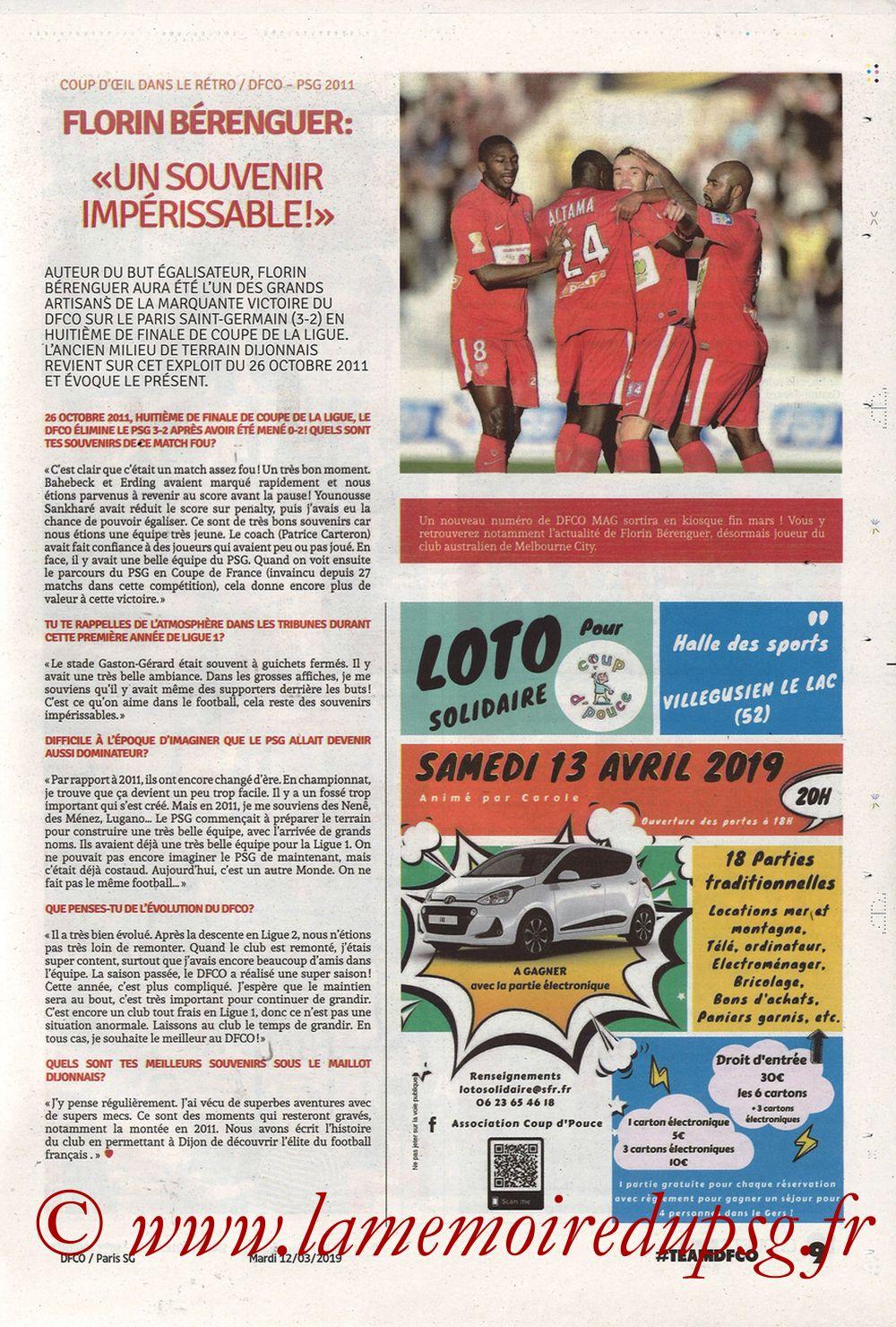2019-03-12  Dijon-PSG (18ème L1 en retard, Chouett'Infos) - Page 09
