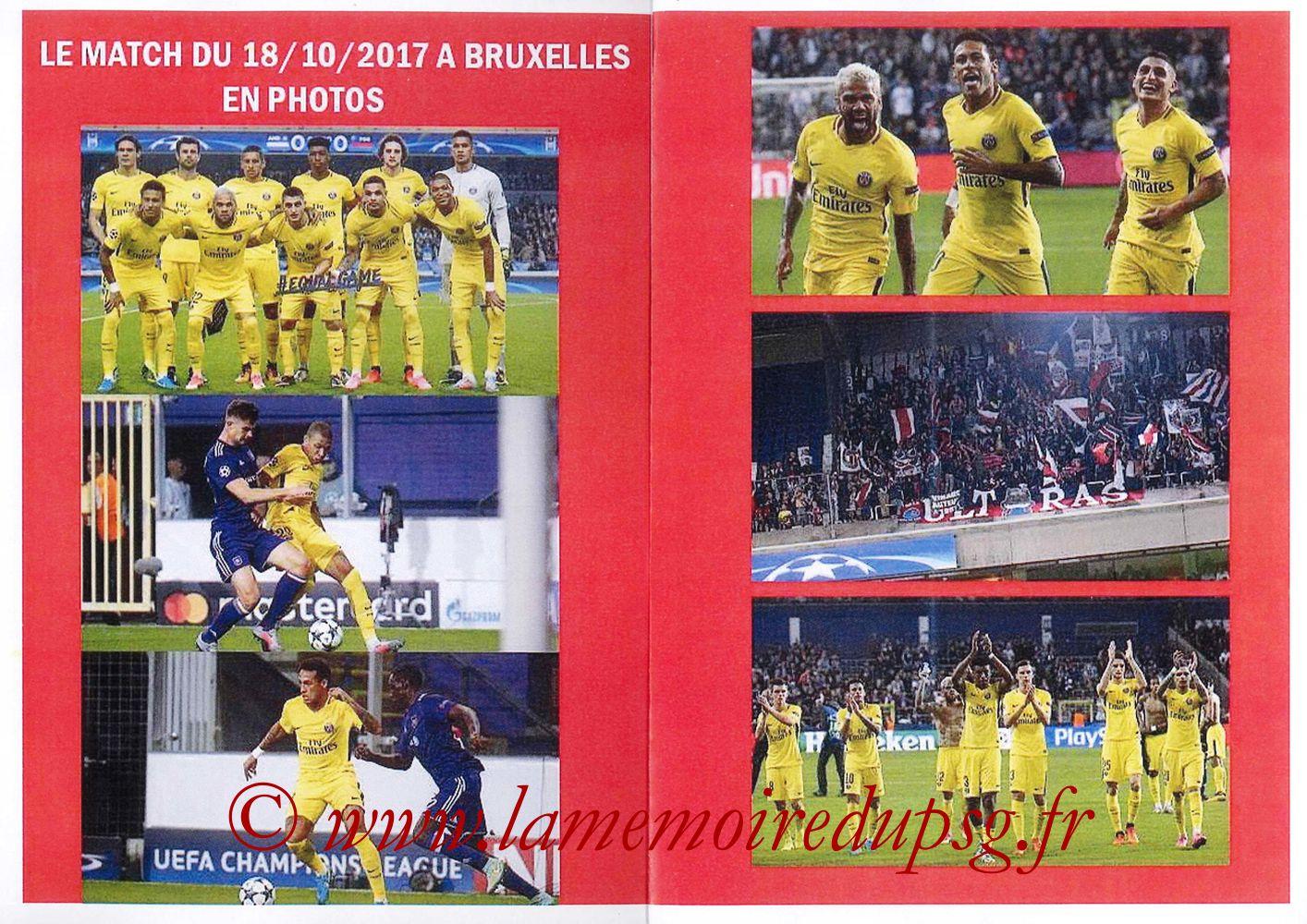 2017-10-31  PSG-Anderlecht (4ème L1, Programme pirate) - Pages 02 et 03