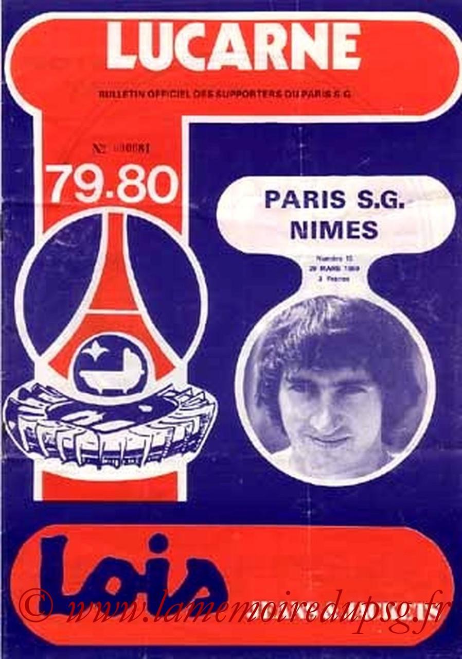 1980-03-29  PSG-Nimes (30ème D1, Lucarne N°15)