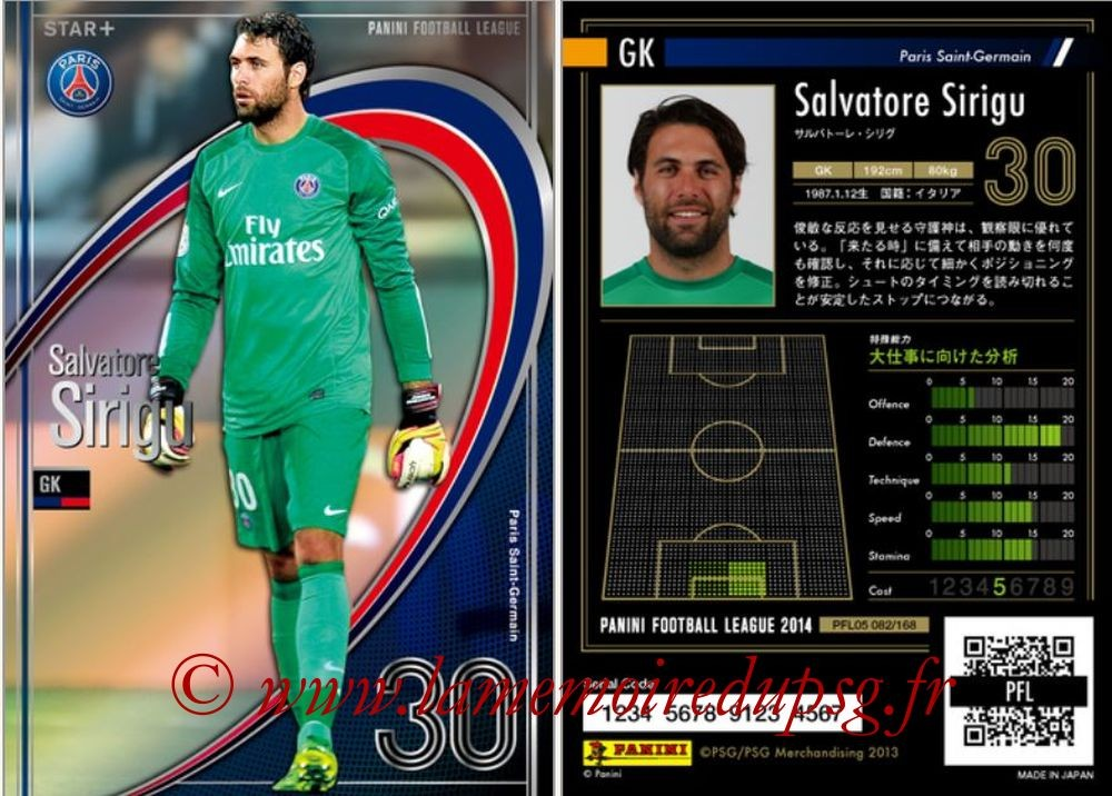 N° 082 - Salvatore SIRIGU (Star +)