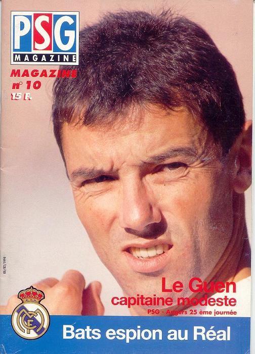 1994-02-05  PSG-Angers (25ème D1, PSG Magazine N°10)