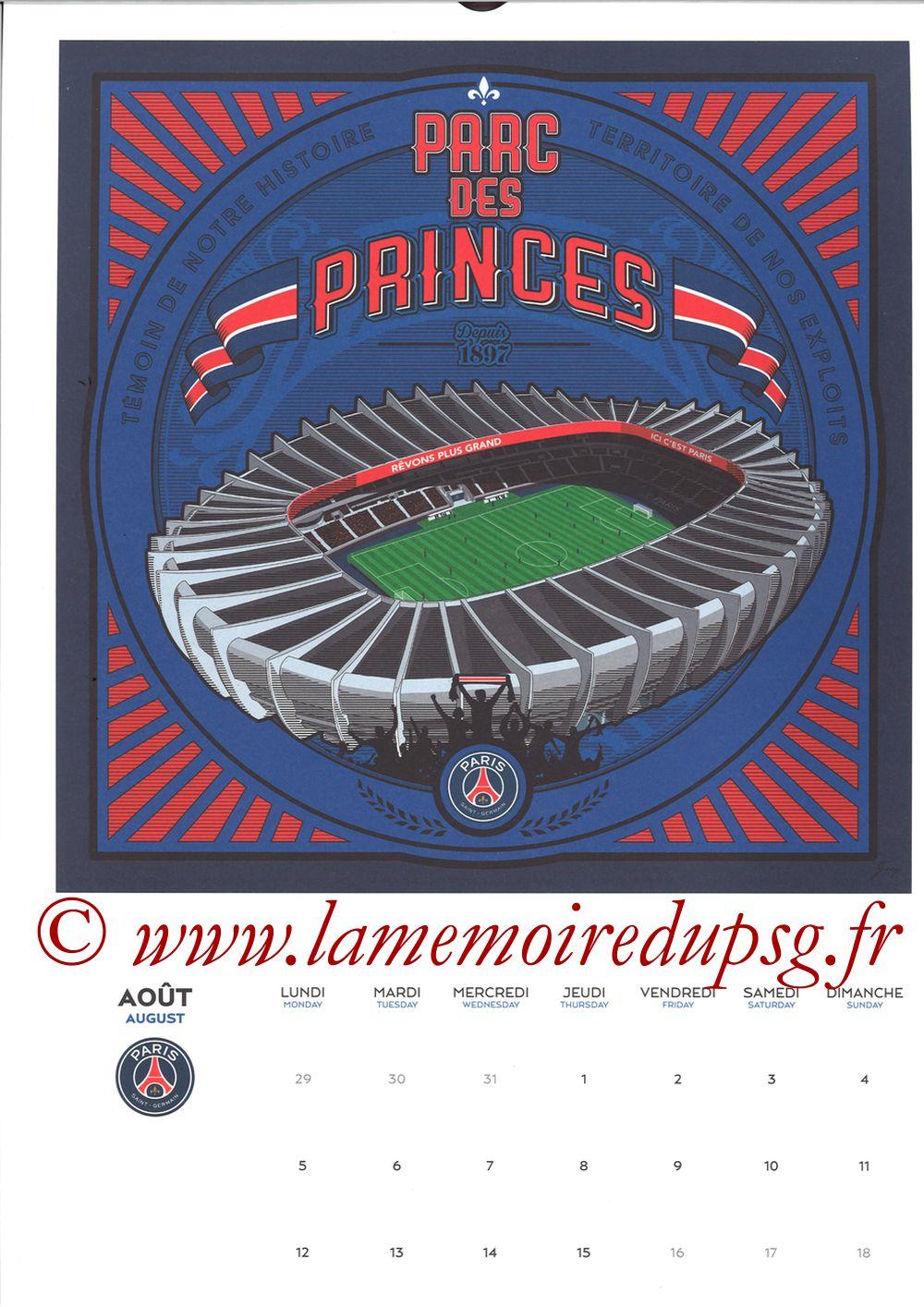 Calendrier PSG 2019 - Page 15 - PARC DES PRINCES