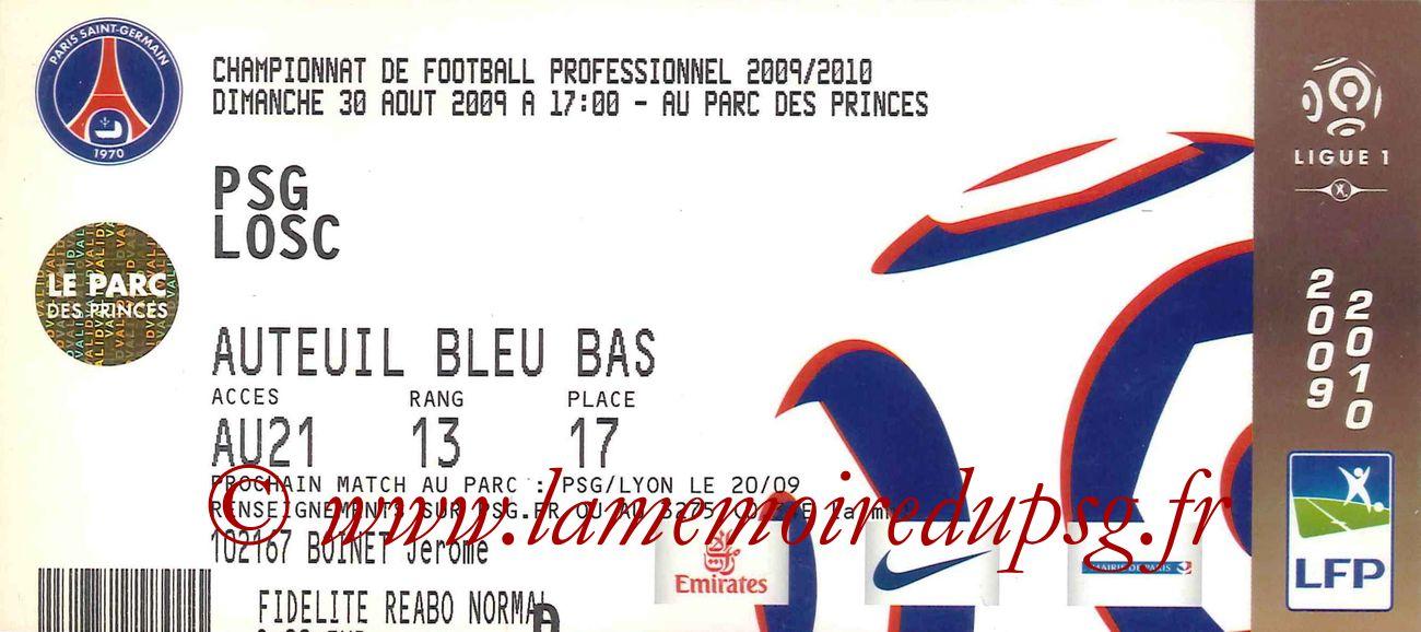 2009-08-30  PSG-Lille (4ème L1)