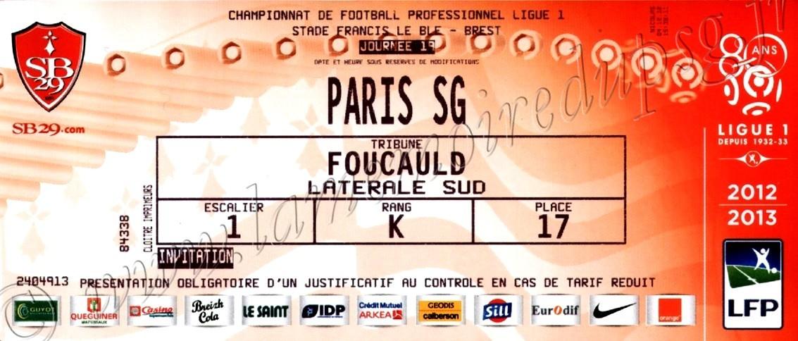 2012-12-21  Brest-PSG (19ème L1)