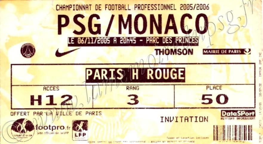 2005-11-06  PSG-Monaco (14ème L1, bis)