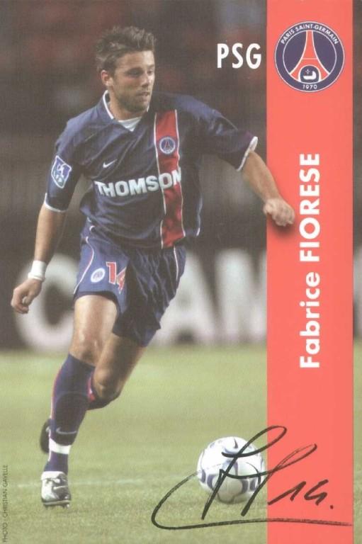 FIORESE Fabrice autographe  02-03