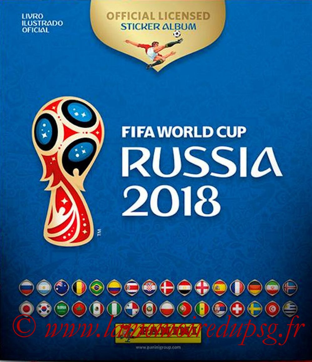2018 - Panini FIFA World Cup Russia Stickers