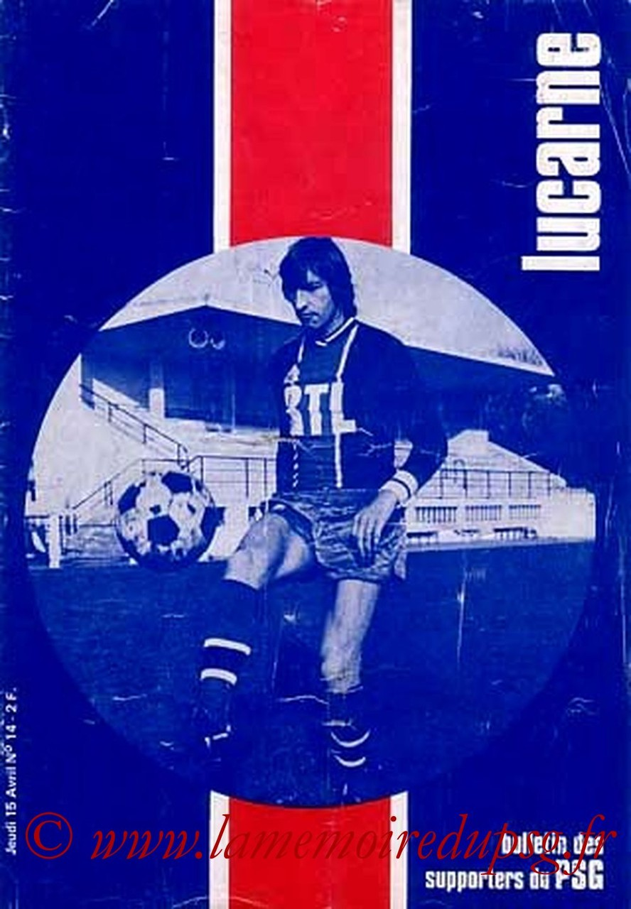 1976-04-15  PSG-Nancy (31ème D1, Lucarne N°14)