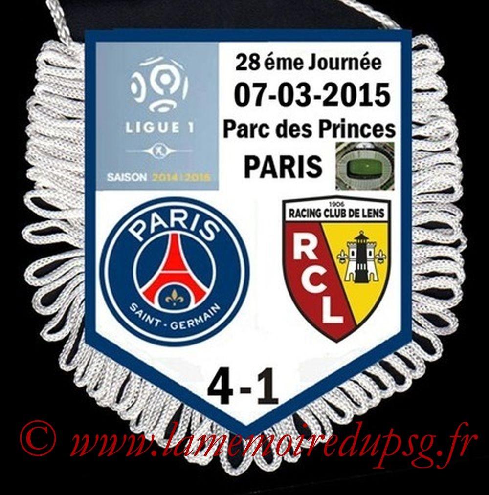 2015-03-07  PSG-Lens (28ème L1)