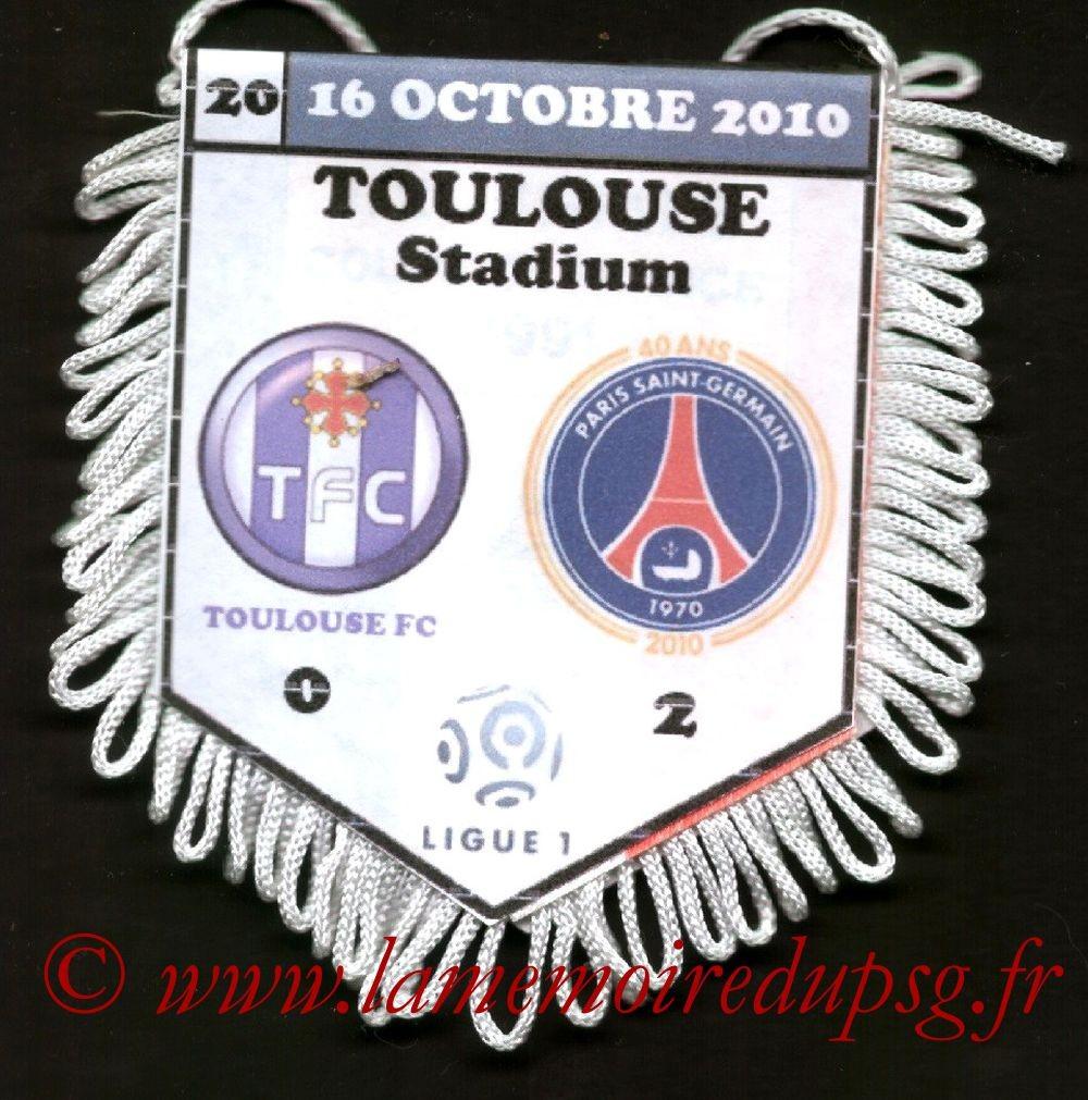 2010-10-16  Toulouse-PSG (9ème L1)