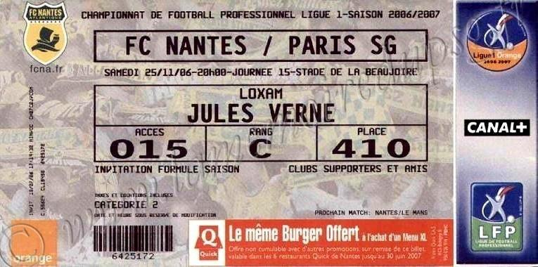 2006-11-26  Nantes-PSG (15ème L1)