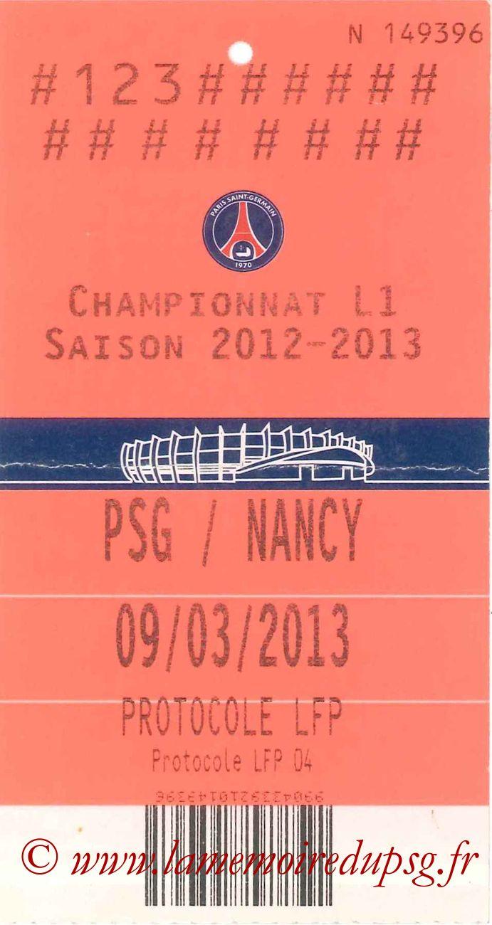 2013-03-09  PSG-Nancy (28ème L1, LFP)