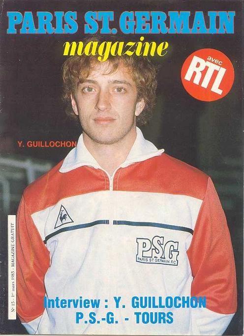 1985-03-01  PSG-Tours (27ème D1, Paris SG Magazine N°15)