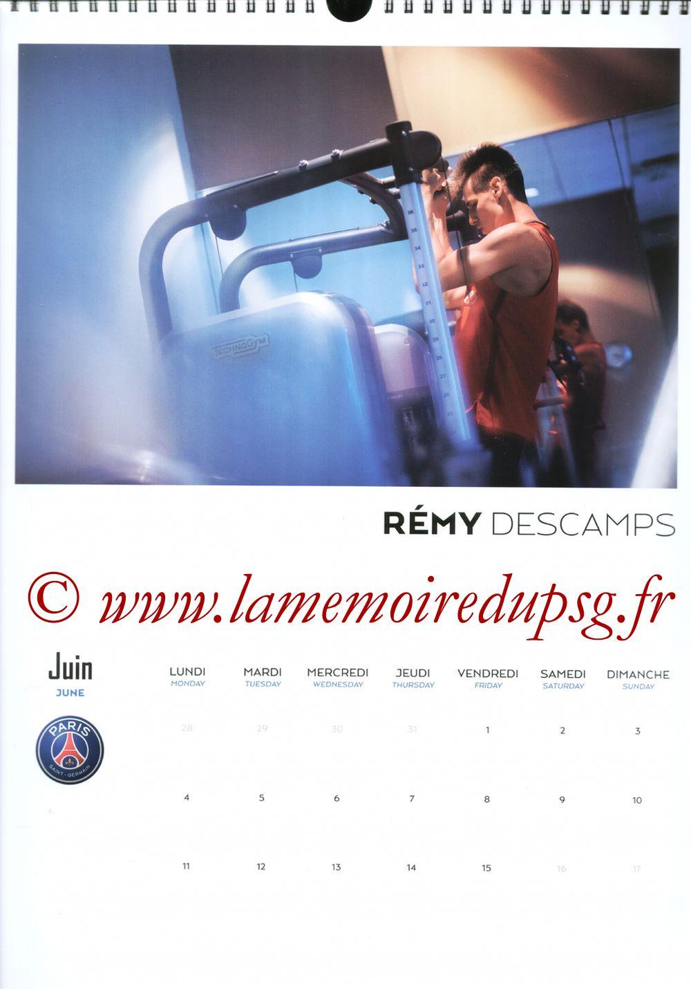 Calendrier PSG 2018 - Page 11 - Remy DESCAMPS
