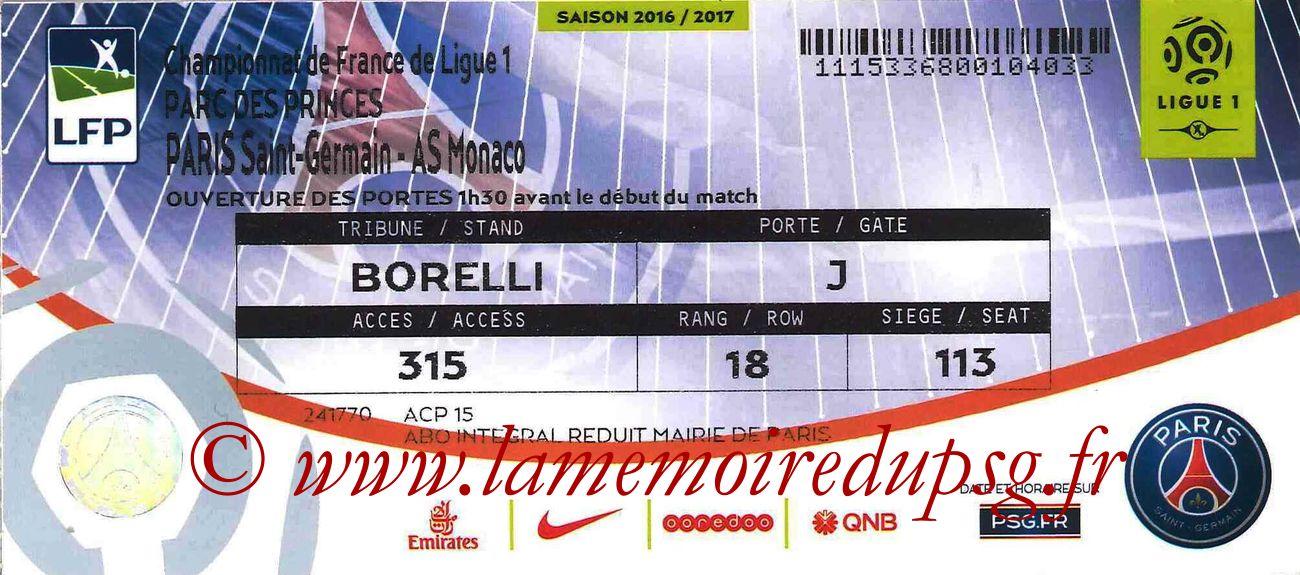 2017-01-29  PSG-Monaco (22ème L1 bis)