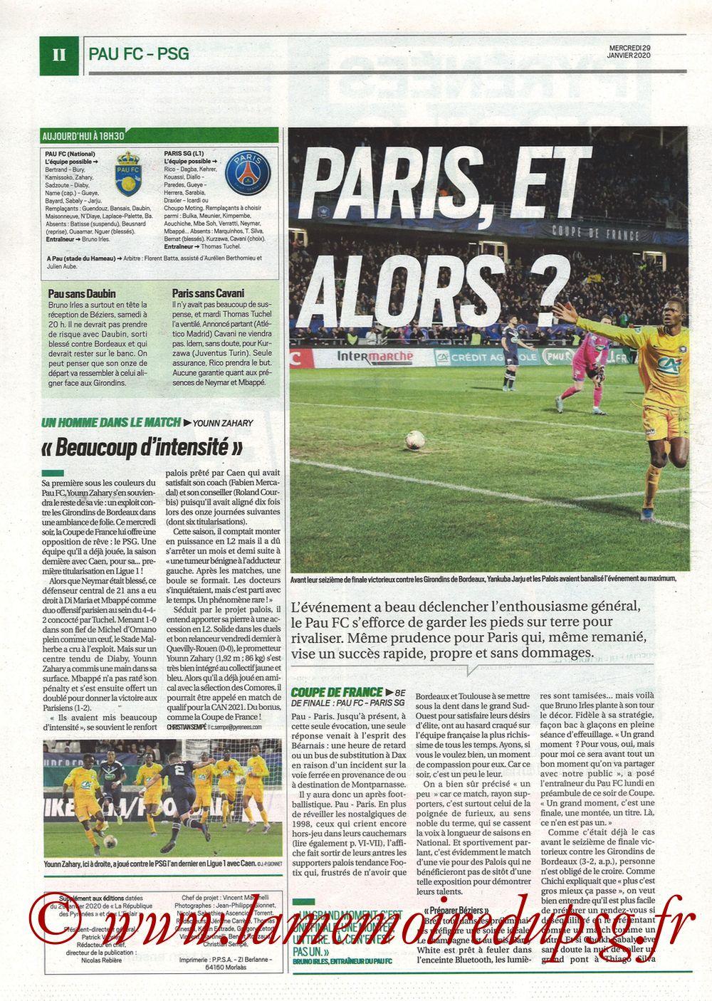 2020-01-29  Pau-PSG (8ème CF, Pyrenees Sports) - Page 02