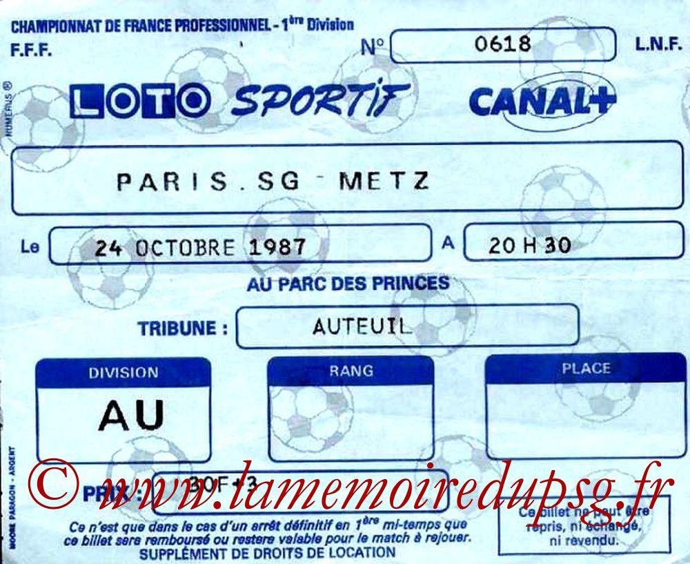 1987-10-24  PSG-Metz (16ème D1)