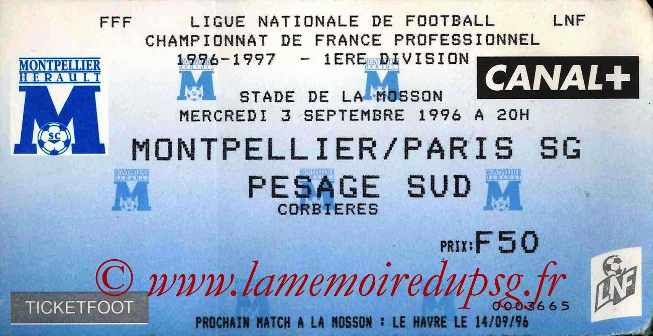 1996-09-03  Montpellier-PSG (5ème D1)