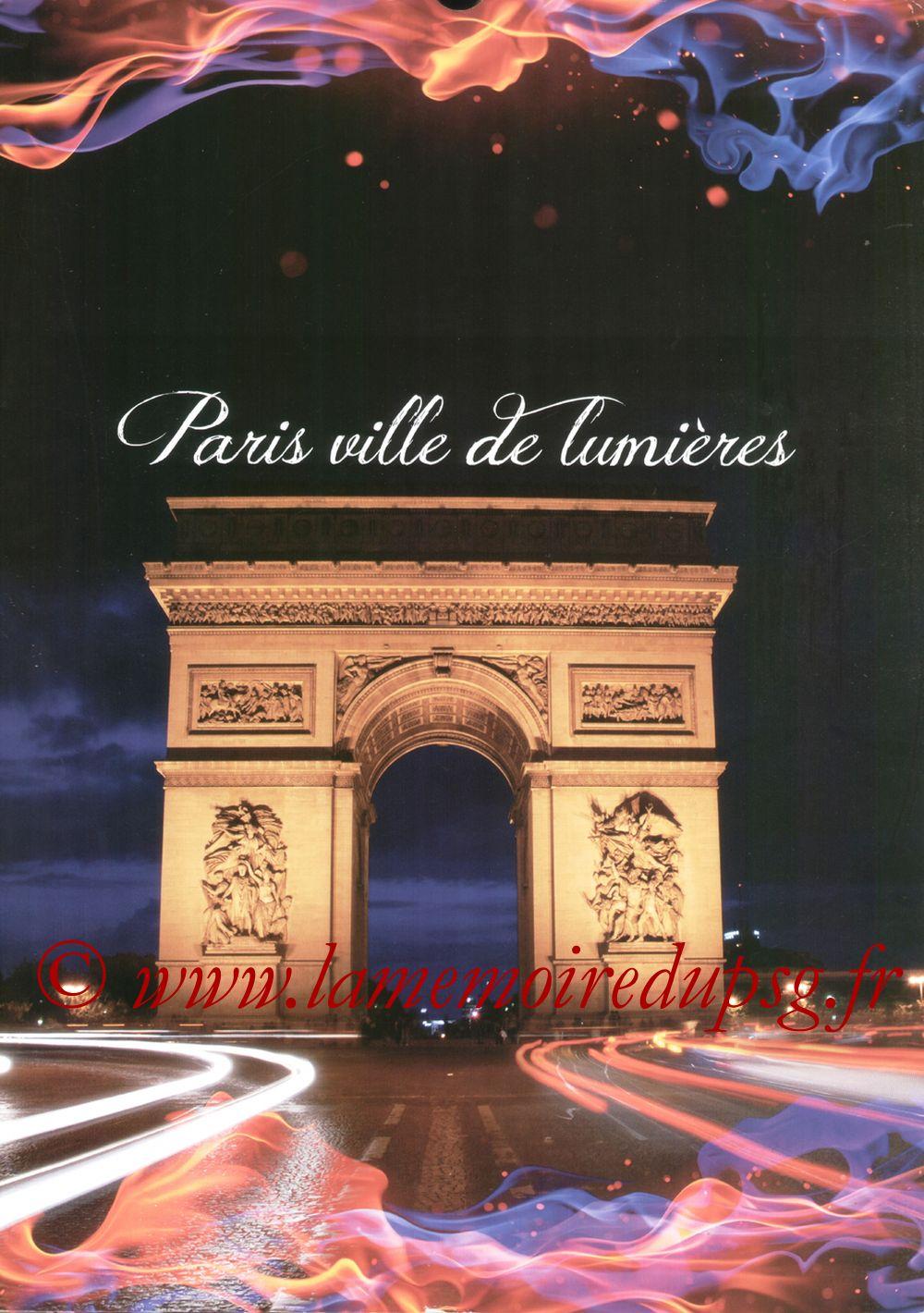 Calendrier PSG 2012bis - Page 13 - Paris ville de lumières