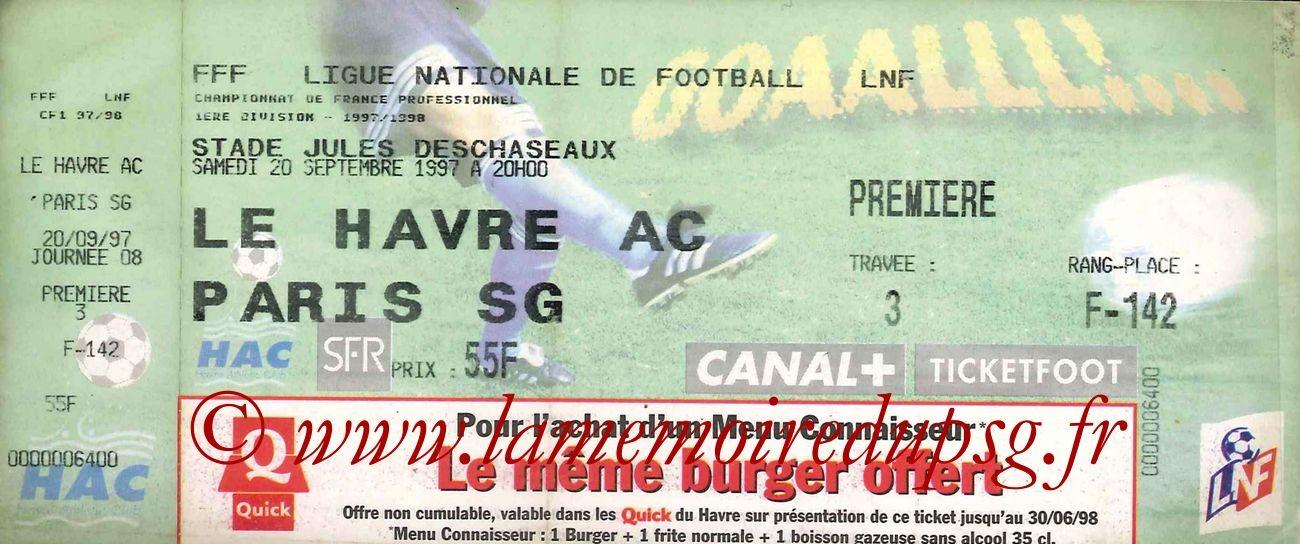 1997-09-20  Le Havre-PSG (8ème D1)