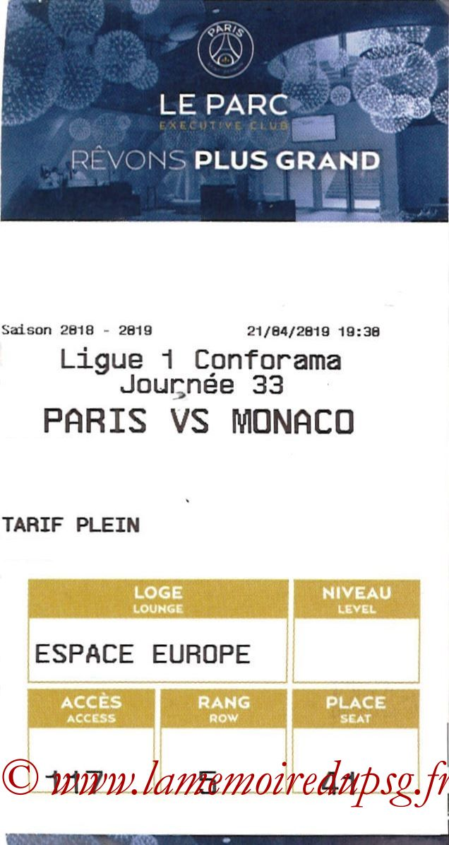 2019-04-21  PSG-Monaco (33ème L1, E-ticket Executive club)