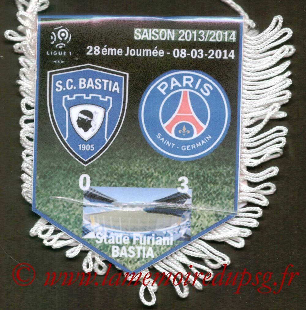 2014-03-08  Bastia-PSG (28ème L1)