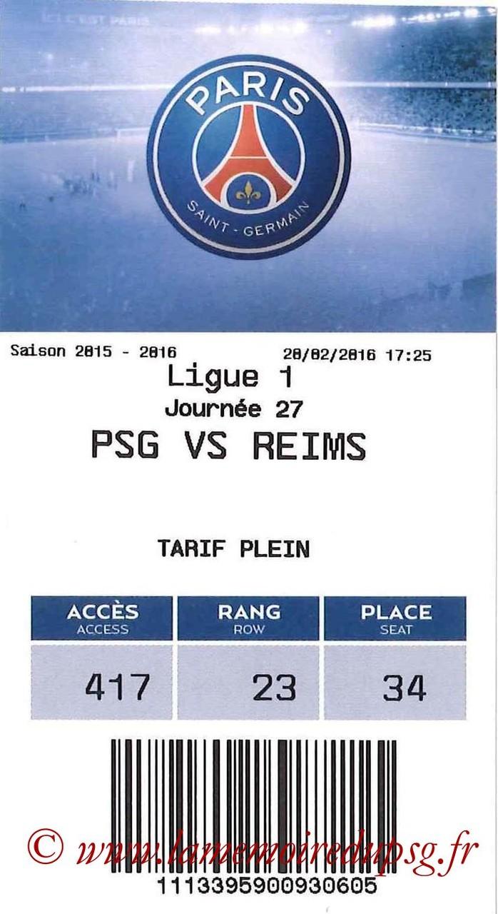 2016-02-20  PSG-Reims (27ème L1, E-ticket bis)