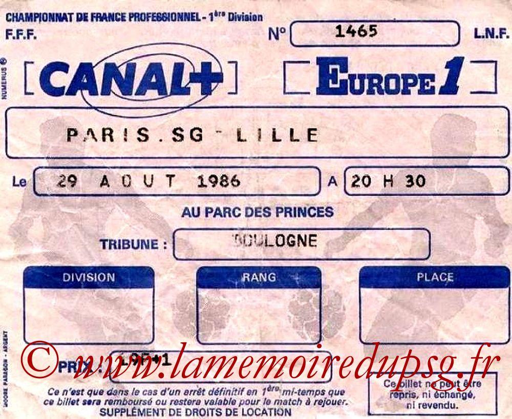1986-08-29  PSG-Lille (7ème D1)