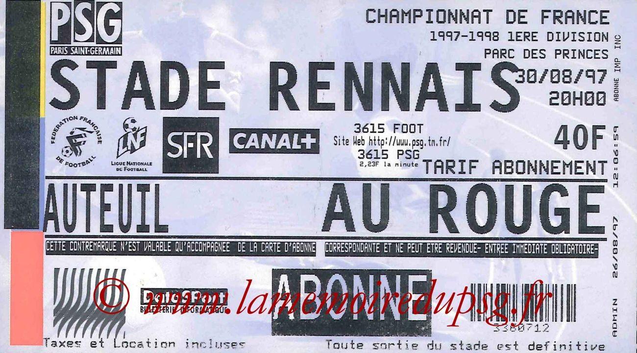 1997-08-30  PSG-Rennes (5ème D1)