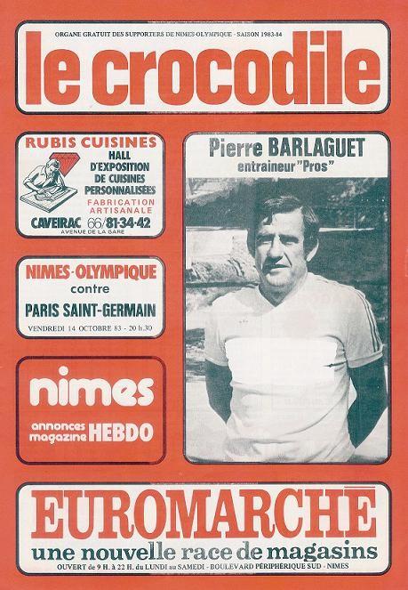 1983-10-15  Nîmes-PSG (14ème D1, Le Crocodile)