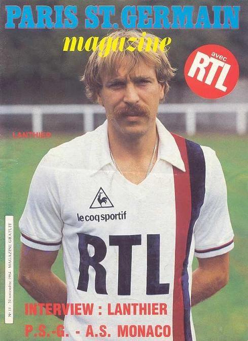 1984-11-24  PSG-Monaco (18ème D1, Paris SG Magazine N°11)