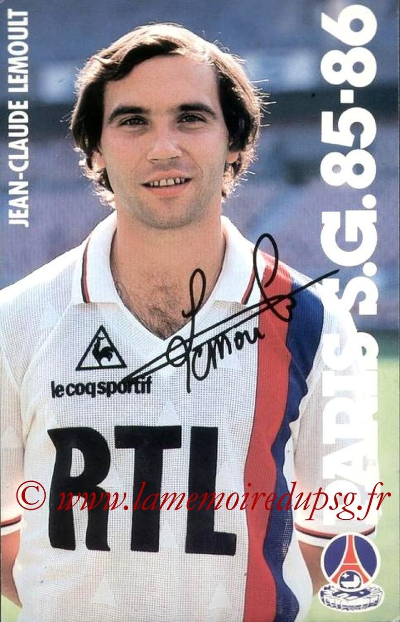 LEMOULT Jean-Claude  85-86