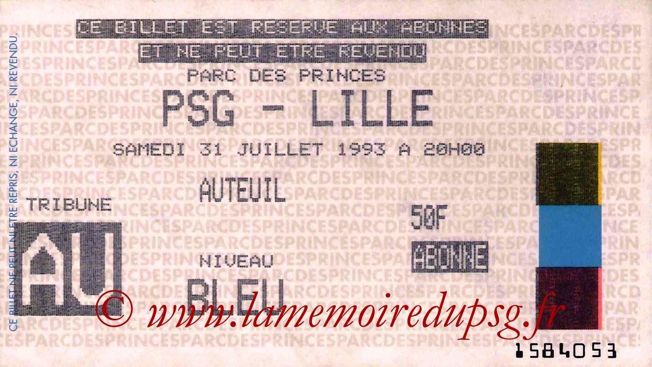 1993-07-31  PSG-Lille (2ème D1)