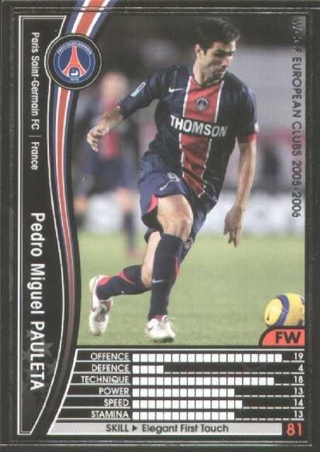 N° 127 - Pedro Miguel PAULETA (Recto)