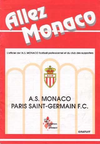 1992-11-28  Monaco-PSG (16ème D1, Allez Monaco)