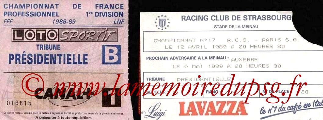 1989-04-12  Strasbourg-PSG (33ème D1)