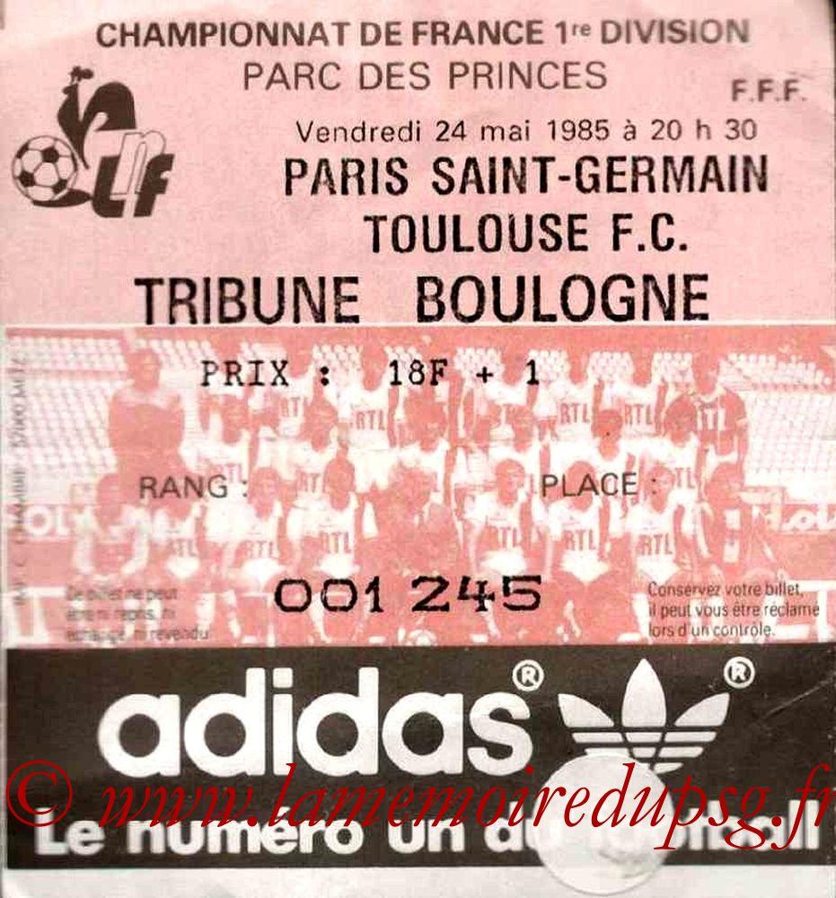 1985-05-24  PSG-Toulouse (37ème D1)