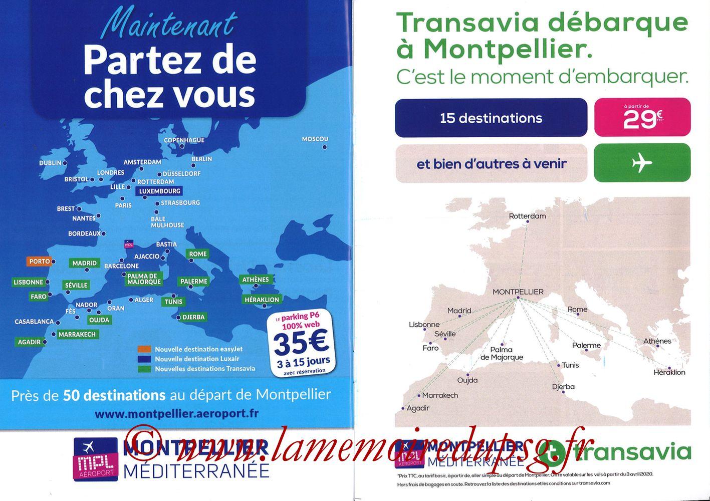 2019-12-07  Montpellier-PSG (17ème L1, L'Echo de la Mosson N°9) - Pages 28 et 29