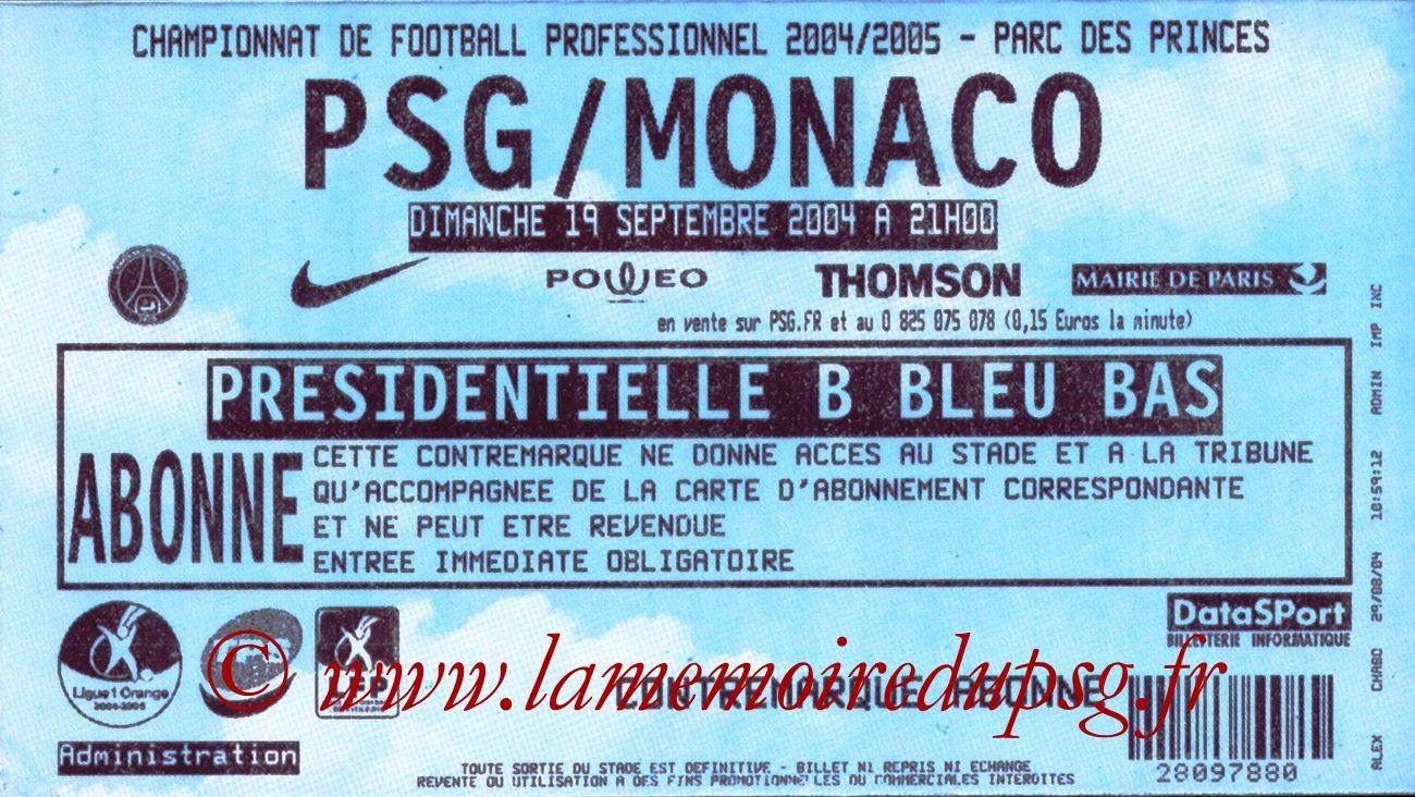 2004-09-19  PSG-Monaco (6ème L1)