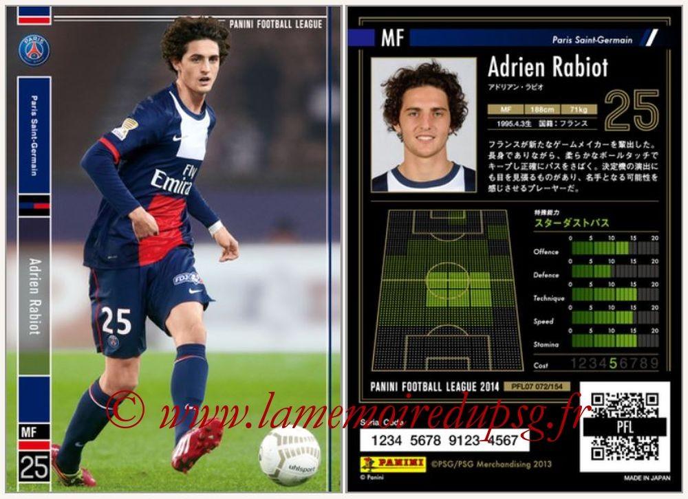 N° 072 - Adrien RABIOT