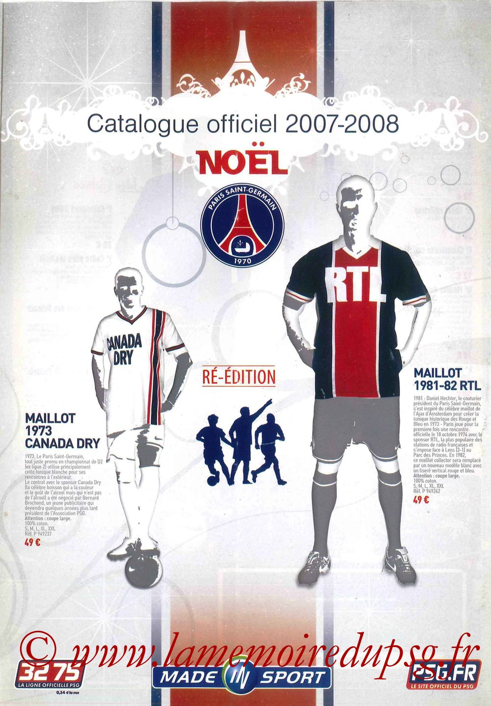 Catalogue PSG - 2007-08 - Noêl