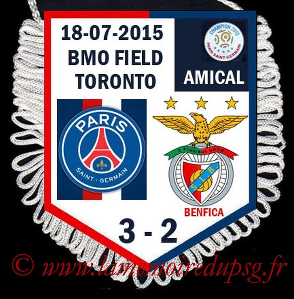 2015-07-18  PSG-Benfica (Amical à Toronto)