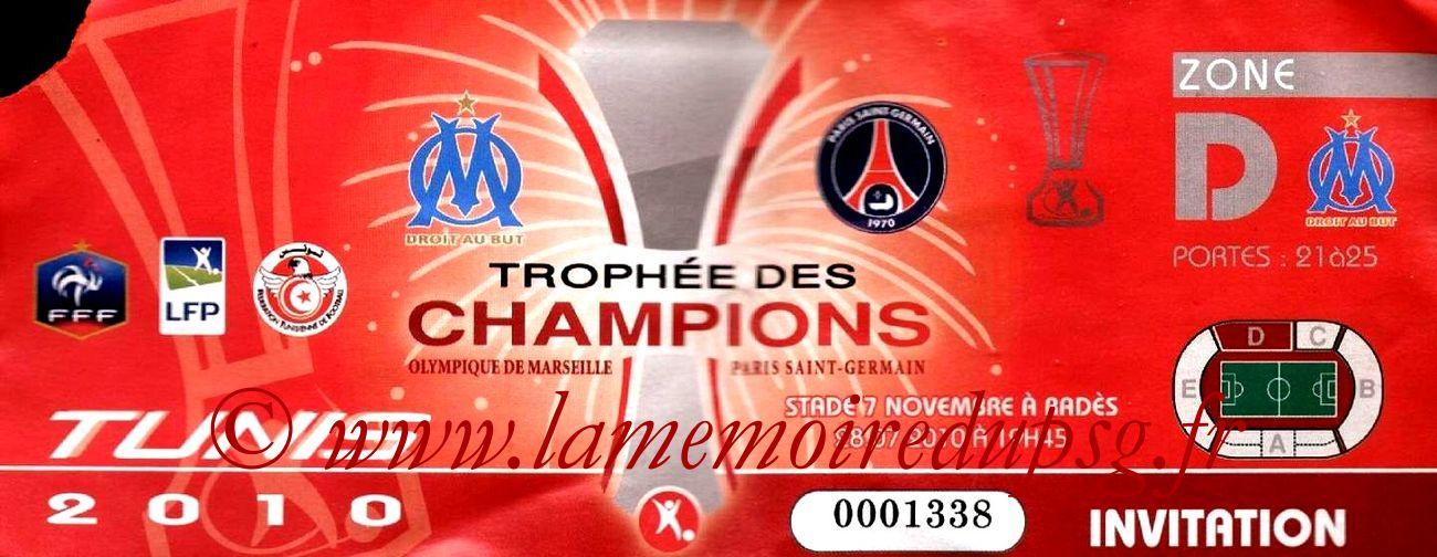 2010-07-28  PSG-Marseille (Trophée des Champions à Rades)2