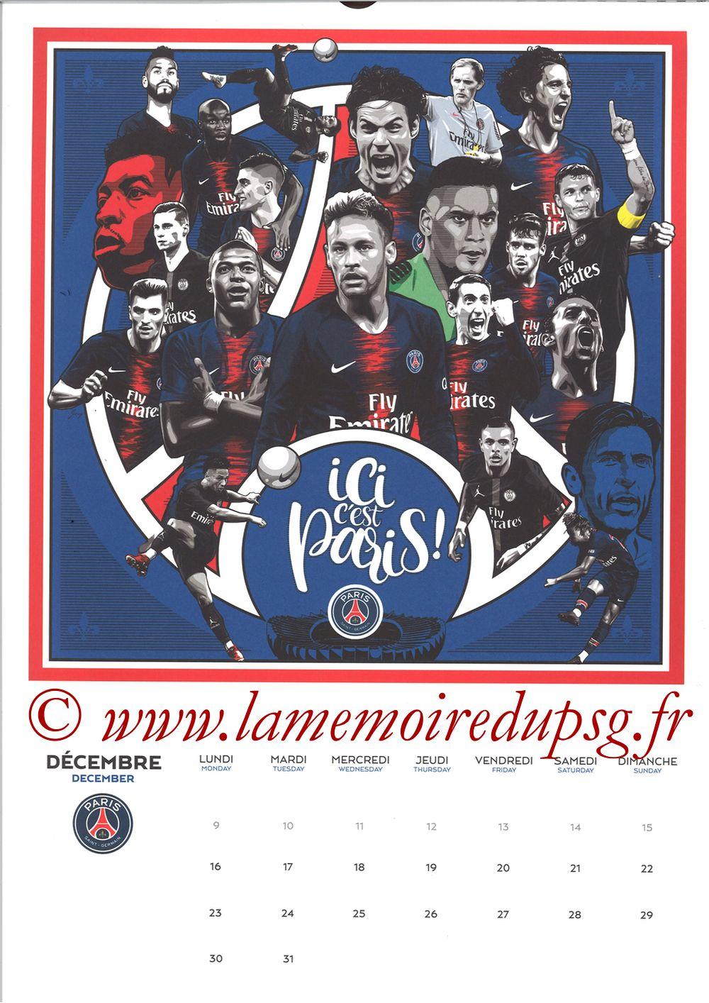 Calendrier PSG 2019 - Page 24 - ICI C'EST PARIS