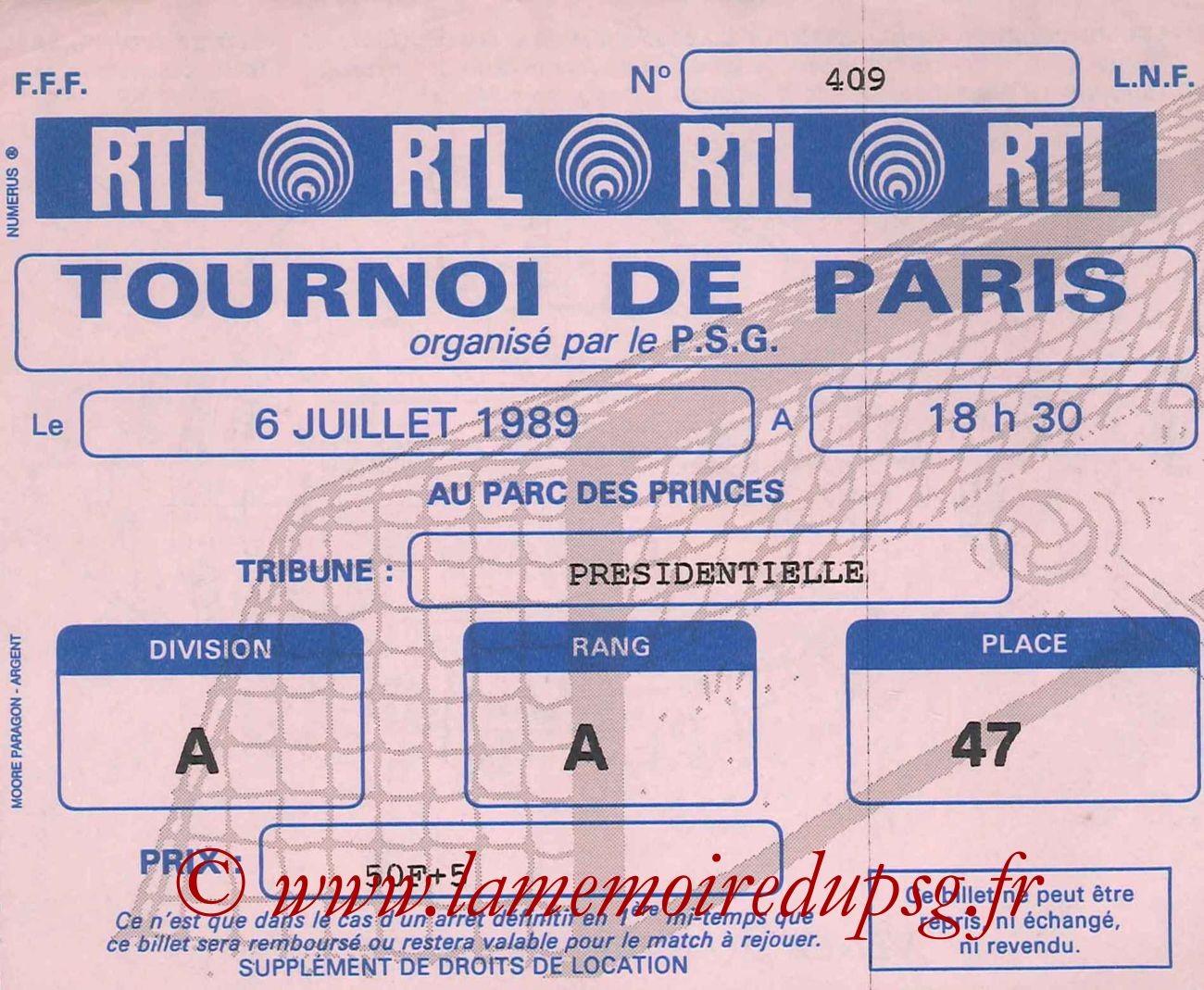 1989-07-06  PSG-Montpellier (Finale Tournoi de Paris)